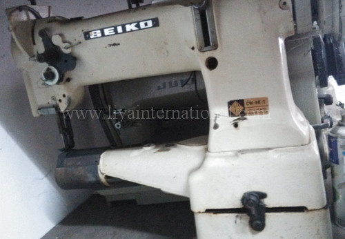 Used Second Hand 40nd Hand Old Single Needle SEIKO CW40B40 Cylinder Best Juki Cylinder Bed Sewing Machine