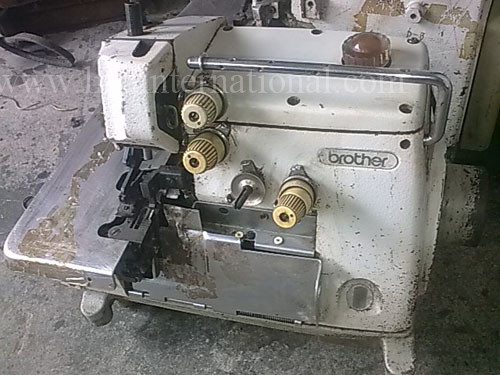 Used Second Hand 40nd Hand Old BROTHER 40 Overlock Industrial Sewing Enchanting Brother Industrial Overlock Sewing Machine